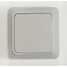 Выключатель 1кл BOLLETO  белый накл 7021