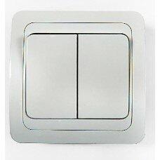 Выключатель 2кл CLASSICO  белый 2023
