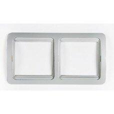 Рамка 2ая CLASSICO  белая 2302H