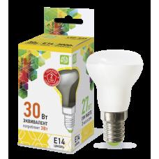 Лампа светодиодная LED-R39-standard 3Вт 230В Е14 3000К 270Лм ASD